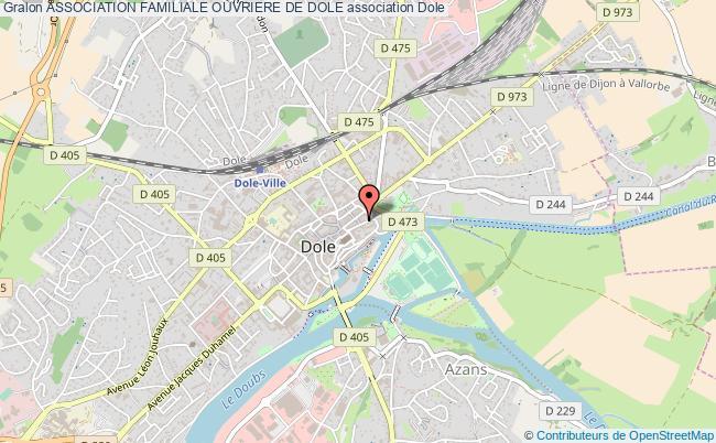 plan association Association Familiale Ouvriere De Dole Dole
