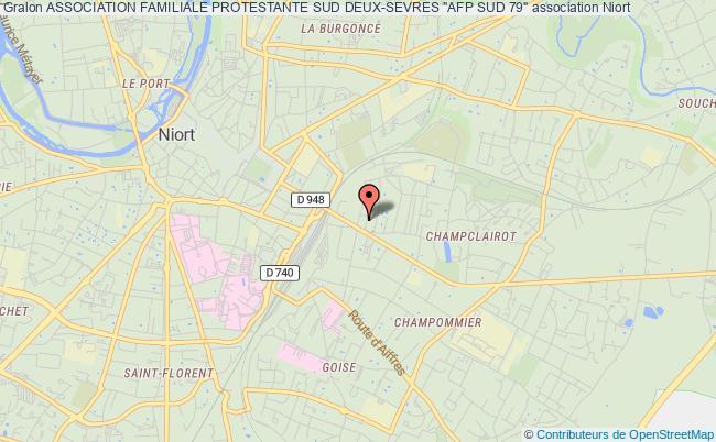 """plan association Association Familiale Protestante Sud Deux-sevres """"afp Sud 79"""""""