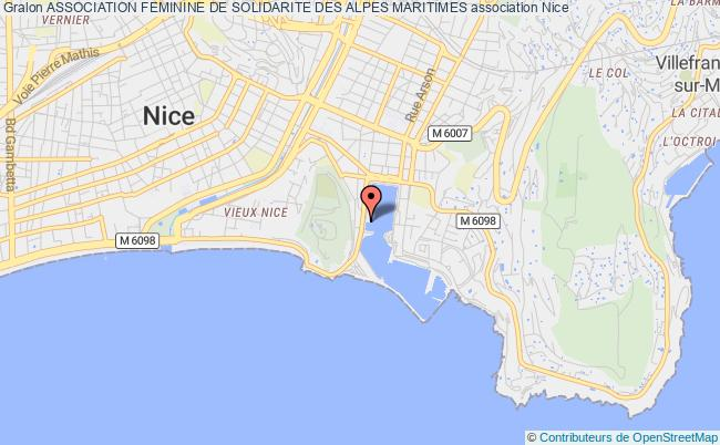 plan association Association Feminine De Solidarite Des Alpes Maritimes