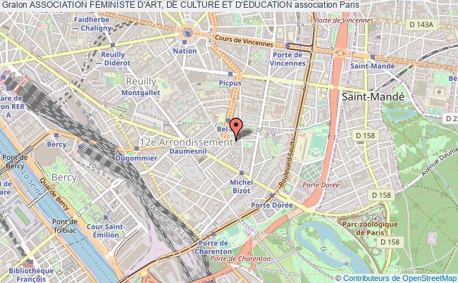 plan association Association FÉministe D'art, De Culture Et D'Éducation