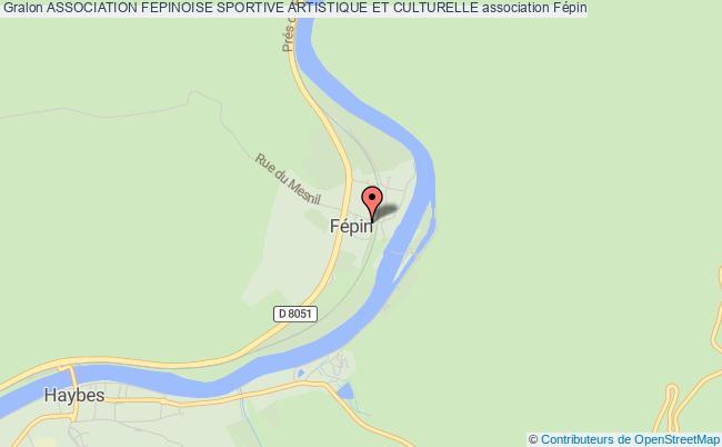 plan association Association Fepinoise Sportive Artistique Et Culturelle