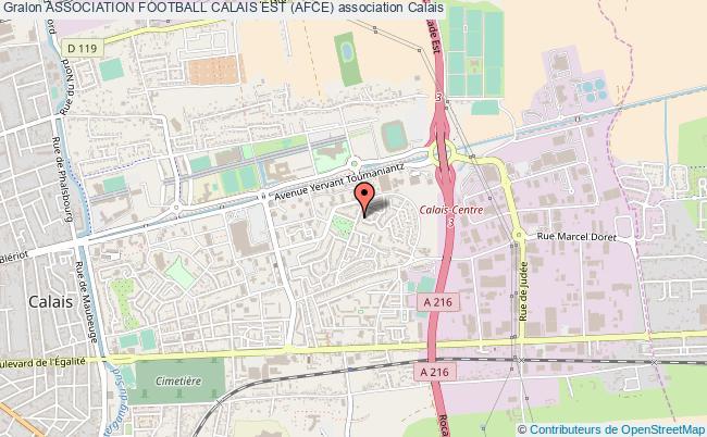 plan association Association Football Calais Est (afce)