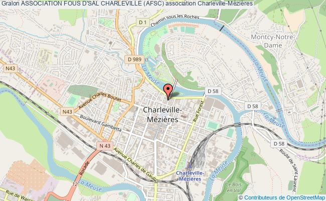 plan association Association Fous D'sal Charleville (afsc)