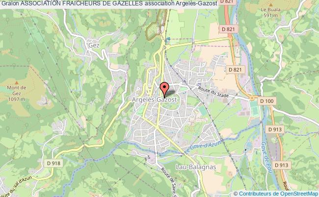 plan association Association Fraicheurs De Gazelles Argelès-Gazost