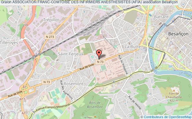plan association Association Franc-comtoise Des Infirmiers Anesthesistes (afia)