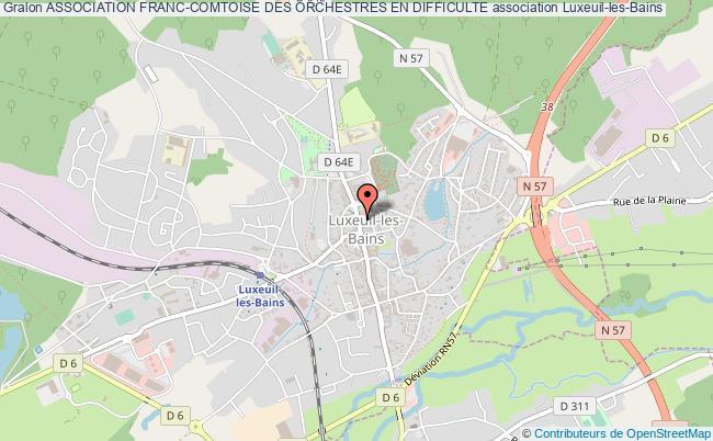 plan association Association Franc-comtoise Des Orchestres En Difficulte