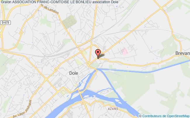 plan association Association Franc-comtoise Le Bonlieu Dole