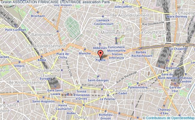 plan association Association Francaise D'entraide
