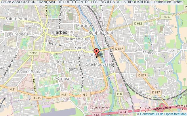 plan association Association FranÇaise De Lutte Contre Les Encules De La Ripouxblique Tarbes