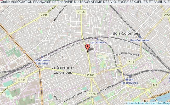 plan association Association FranÇaise De Therapie Du Traumatisme Des Violences Sexuelles Et Familiales Et De Prevention (a.f.t.v.s.)