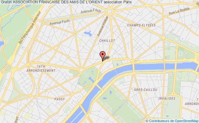 plan association Association Francaise Des Amis De L'orient