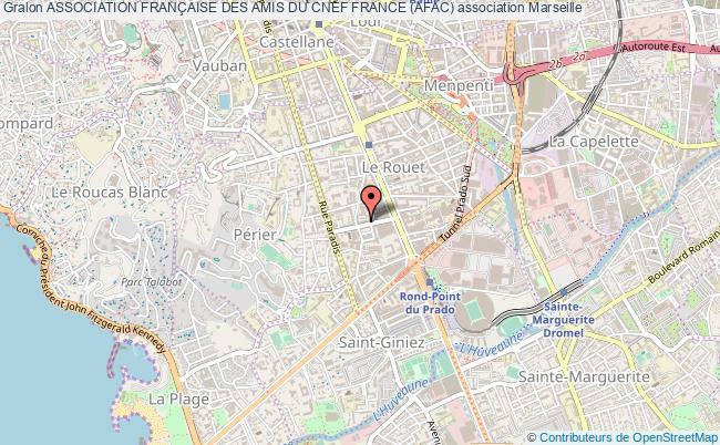 plan association Association FranÇaise Des Amis Du Cnef France (afac) Marseille