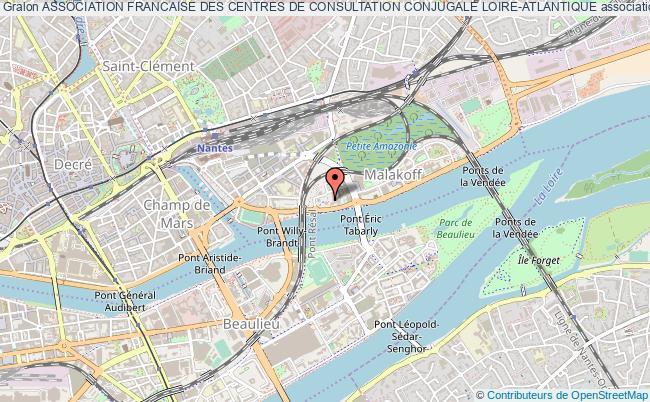 plan association Association Francaise Des Centres De Consultation Conjugale Loire-atlantique