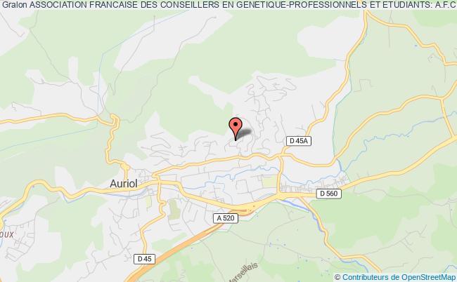 plan association Association Francaise Des Conseillers En Genetique-professionnels Et Etudiants: A.f.c.g.