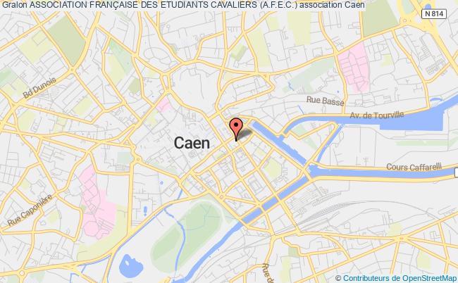 plan association Association FranÇaise Des Etudiants Cavaliers (a.f.e.c.) Caen