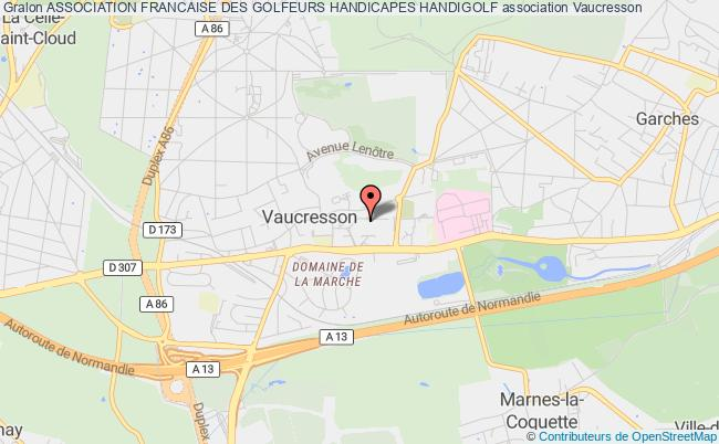 plan association Association Francaise Des Golfeurs Handicapes Handigolf