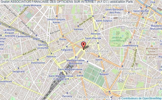 f2d65f972dba20 plan association Association Francaise Des Opticiens Sur Internet  (a.f.o.i.) Paris