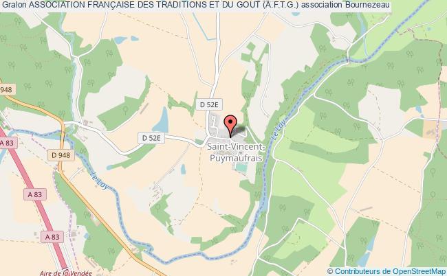 plan association Association FranÇaise Des Traditions Et Du Gout (a.f.t.g.)