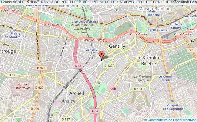 plan association Association Francaise Pour Le Developpement De La Bicyclette Electrique
