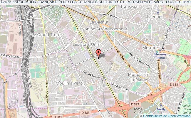 plan association Association FranÇaise Pour Les Echanges Culturels Et La Fraternite Avec Tous Les Immigres