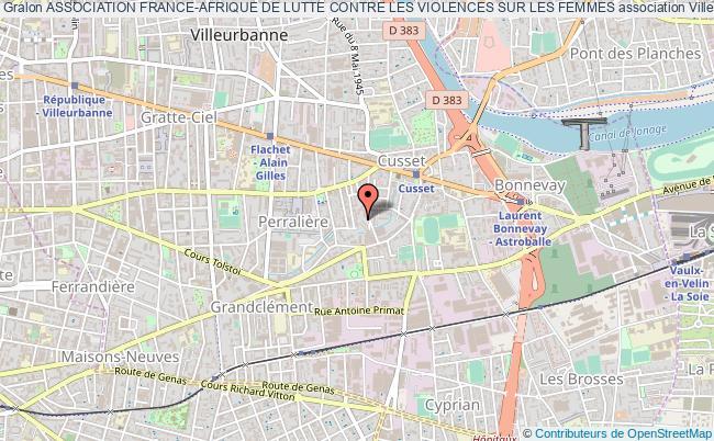 plan association Association France-afrique De Lutte Contre Les Violences Sur Les Femmes