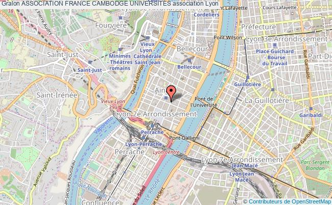 plan association Association France Cambodge Universites