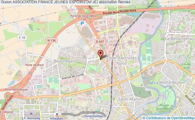 plan association Association France Jeunes Espoirs (afje)