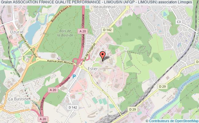 plan association Association France QualitÉ Performance - Limousin (afqp - Limousin)