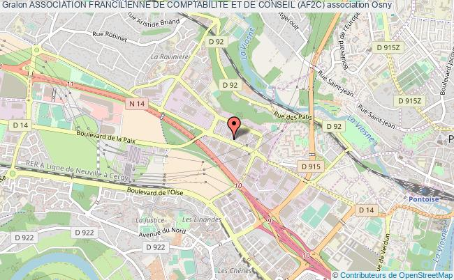 plan association Association Francilienne De Comptabilite Et De Conseil (af2c) Osny