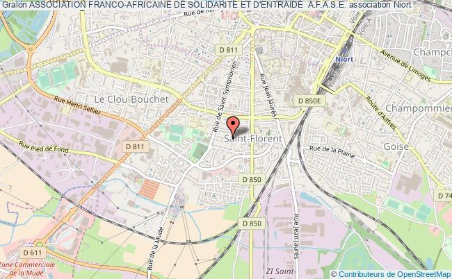 plan association Association Franco-africaine De Solidarite Et D'entraide  A.f.a.s.e.