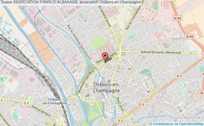 plan association Association Franco-albanaise
