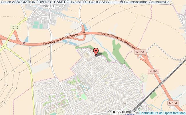 plan association Association Franco - Camerounaise De Goussainville - Afcg Goussainville
