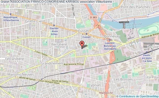 plan association Association Franco-comorienne Karibou