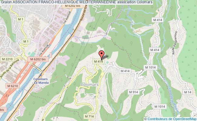 plan association Association Franco-hellenique Mediterraneenne