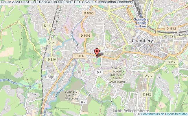 plan association Association Franco-ivoirienne Des Savoies