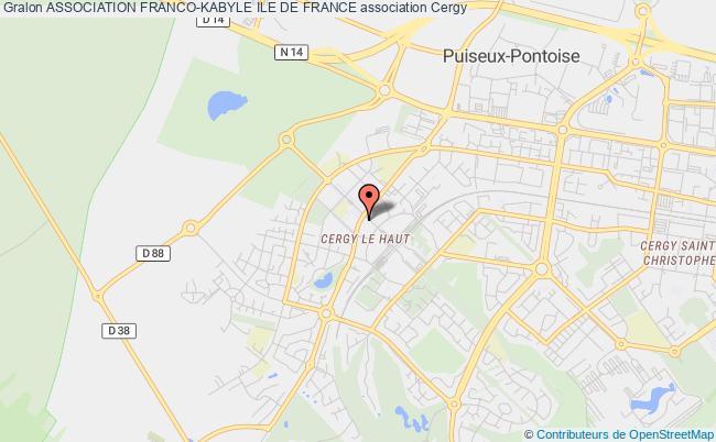 plan association Association Franco-kabyle Ile De France Cergy-le-Haut