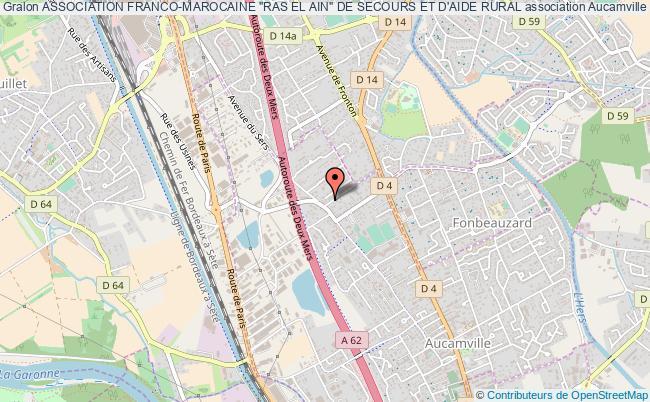 """plan association Association Franco-marocaine """"ras El Ain"""" De Secours Et D'aide Rural"""
