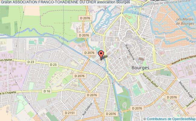 plan association Association Franco-tchadienne Du Cher Bourges