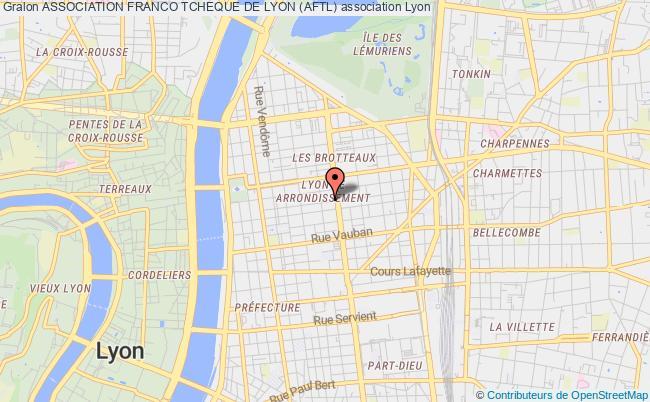 plan association Association Franco Tcheque De Lyon (aftl)