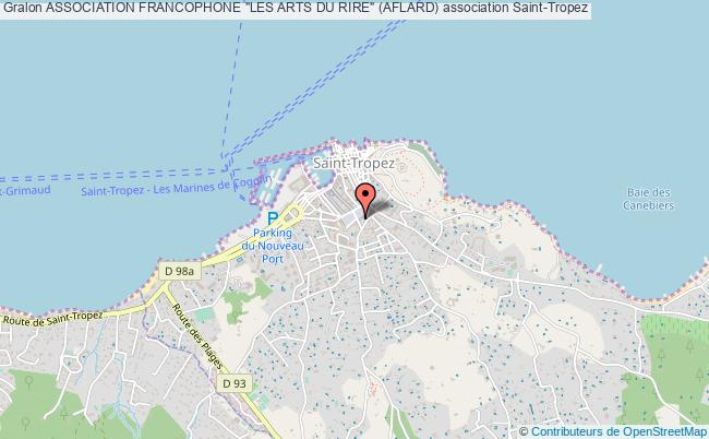 "plan association Association Francophone ""les Arts Du Rire"" (aflard)"
