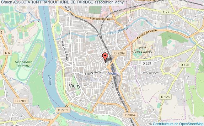 plan association Association Francophone De Taridge