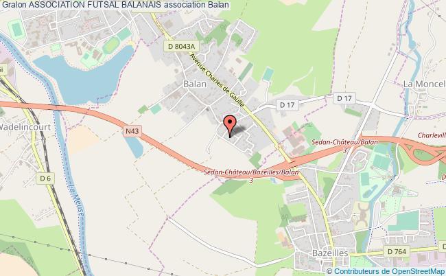 plan association Association Futsal Balanais