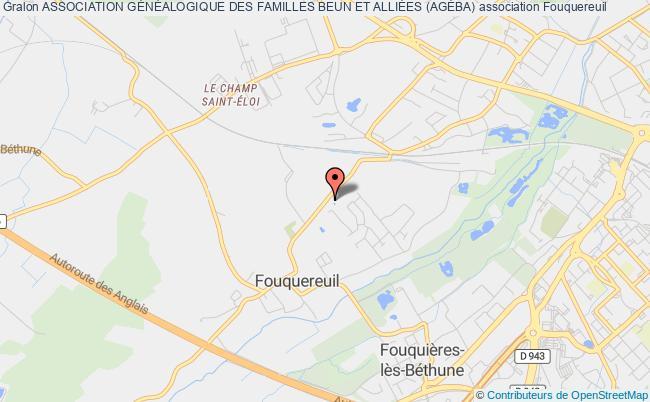 plan association Association GÉnÉalogique Des Familles Beun Et AlliÉes (agÉba)