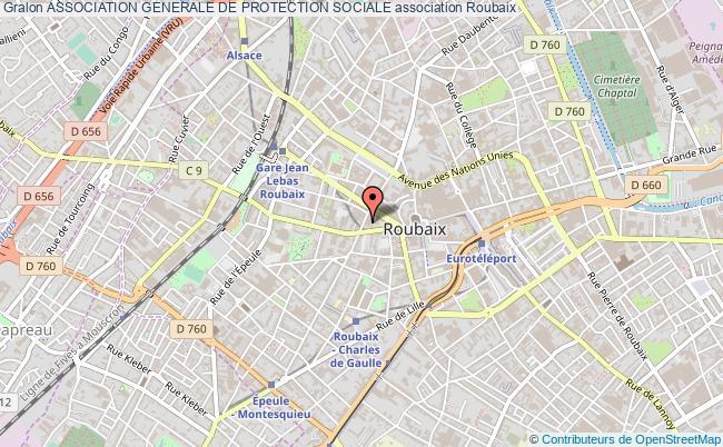 plan association Association Generale De Protection Sociale Roubaix