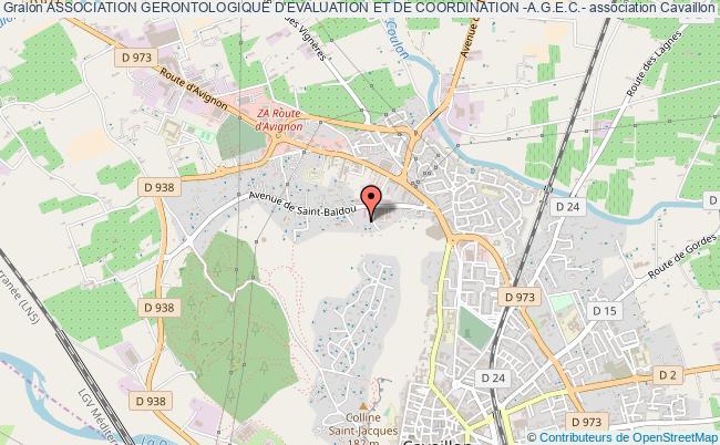 plan association Association Gerontologique D'evaluation Et De Coordination -a.g.e.c.-