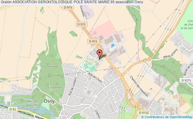 plan association Association Gerontologique Pole Sainte Marie 95 Osny