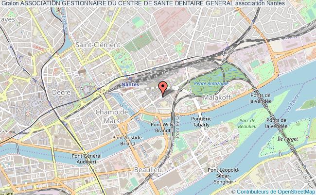 plan association Association Gestionnaire Du Centre De Sante Dentaire General
