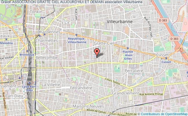 plan association Association Gratte Ciel Aujourd'hui Et Demain