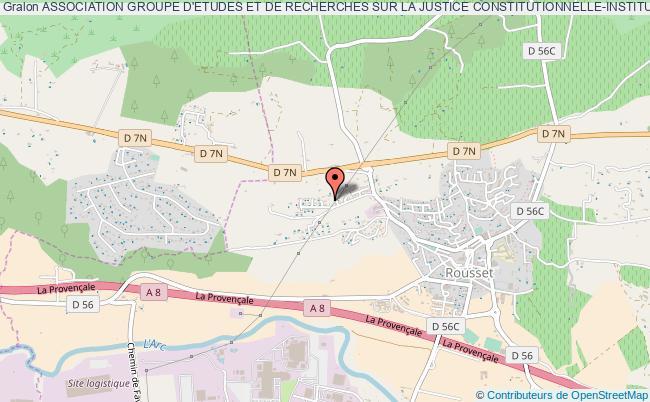 plan association Association Groupe D'etudes Et De Recherches Sur La Justice Constitutionnelle-institut Louis Favoreu