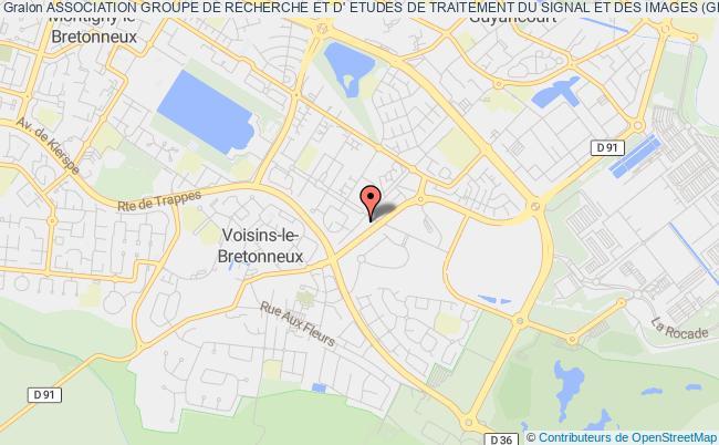 plan association Association Groupe De Recherche Et D' Etudes De Traitement Du Signal Et Des Images (gretsi) Voisins-le-Bretonneux